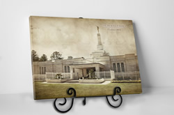 Columbia SC Temple - Vintage Tabletop