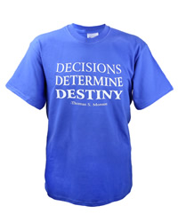 Decisions Determine Destiny T-Shirt - D-VWI-DECISIONS