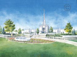 Denver Colorado Temple - Sketch