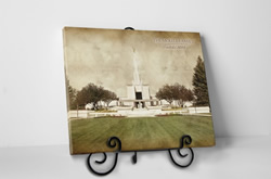 Denver Temple - Vintage Tabletop