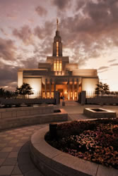 Draper Temple - Evening