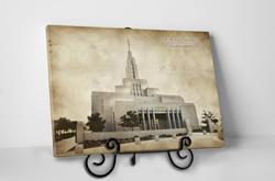 Draper Temple - Vintage Tabletop - D-LWA-TCW-DRPR