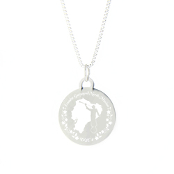 Ecuador Mission Necklace - Silver/Gold - LDP-CPN15