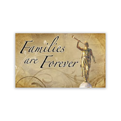Families are Forever Recommend Holder