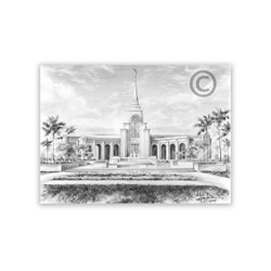 Fort Lauderdale Florida Temple Recommend Holder