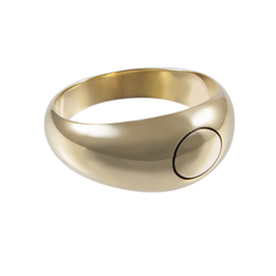 Mens Joseph Smith Ring - Gold