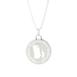 Georgia Mission Necklace - Silver/Gold