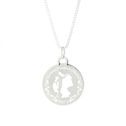 Custom Mission Necklace - Silver/Gold - LDP-CPN39