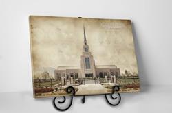 Gila Valley Temple - Vintage Tabletop