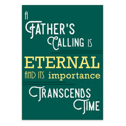 Father's Day Card - Father's Calling - Printable - LDPD-DADCRDCALL16