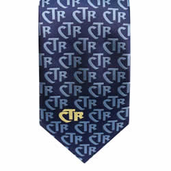 Men's Blue CTR Necktie