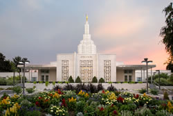 Idaho Falls Temple - Vibrant Morning