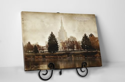 Idaho Falls Temple - Vintage Tabletop