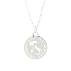 Italy Mission Necklace - Silver/Gold