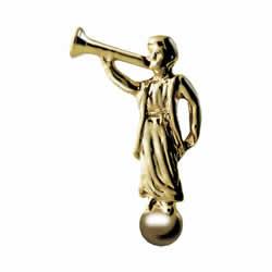 Moroni Pin - Gold