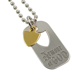 Armour of God Dog Tag