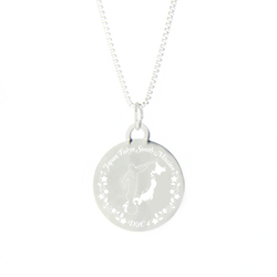 Japan Mission Necklace - Silver/Gold lds japan mission jewelry