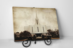 Jordan River Temple - Vintage Tabletop