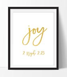 Joy Gold - Printable