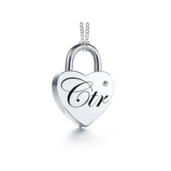 CTR Love Lock Necklace
