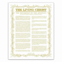 Leaf Outline Living Christ - Gold - Printable living christ, living christ printable, black living christ, leaf outline