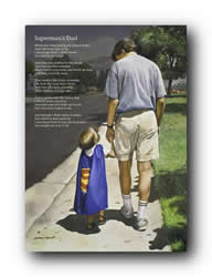 Superman's Dad (Poem) - Print