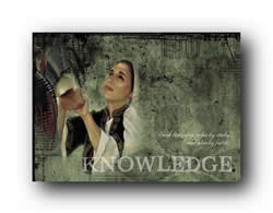 Young Women Values - Knowledge - Print