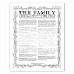 Leaf Outline Family Proclamation - Black - Printable family proclamation, family proclamation to the world, the family proclamation, leaf, printable, the family proclamation, leaf outline