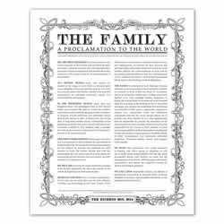 Personalized Leaf Outline Family Proclamation