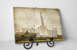 Los Angeles Temple - Vintage Tabletop - D-LWA-TCW-LA