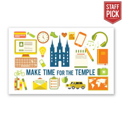 Make Time for the Temple Recommend Holder - LDP-REC10233