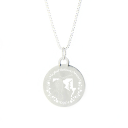 Maryland Mission Necklace - Silver/Gold maryland lds mission jewelry