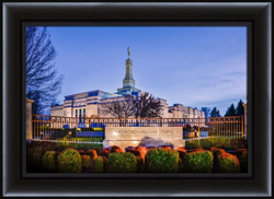 Medford Temple - Framed - D-LWA-SJ-MTWS-8D14570