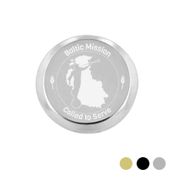 Baltic Mission Pin