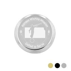 Kansas Mission Pin - LDP-TPN0555