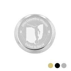 Ohio Mission Pin - Silver
