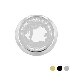 Romania/Moldova Mission Pin