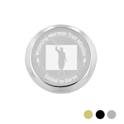 Wyoming Mission Pin