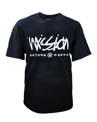 Black Mission: Return With Honor T-Shirt - D-VWI-RWH-BLACK