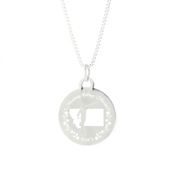 Montana Mission Necklace - Silver/Gold