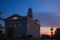Nauvoo Temple - Sunset
