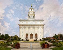 Nauvoo Temple - Nauvoo The Beautiful