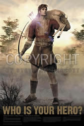 Nephi Hunting Poster