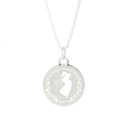 New Jersey Mission Necklace - Silver/Gold new jersey lds mission jewelry