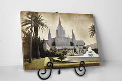 Tabletop Vintage Oakland Temple