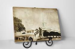 Tabletop Vintage Orlando Temple