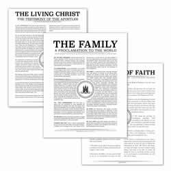 Temple Stamp Family Poster Pack temple stamp, black, gold, charcoal, the living christ, living christ, home decor, family posters, poster pack, wedding gift, family proclamation, articles of faith, living christ, the living christ, the articles of faith, the family proclamation, the family proclamation to the world, family proclamation to the world
