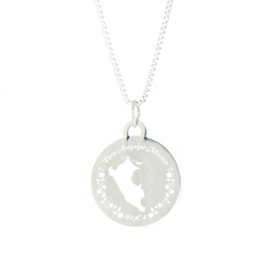 Peru Mission Necklace - Silver/Gold