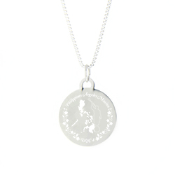 Philippines Mission Necklace - Silver/Gold