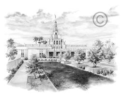 Phoenix Temple - Sketch